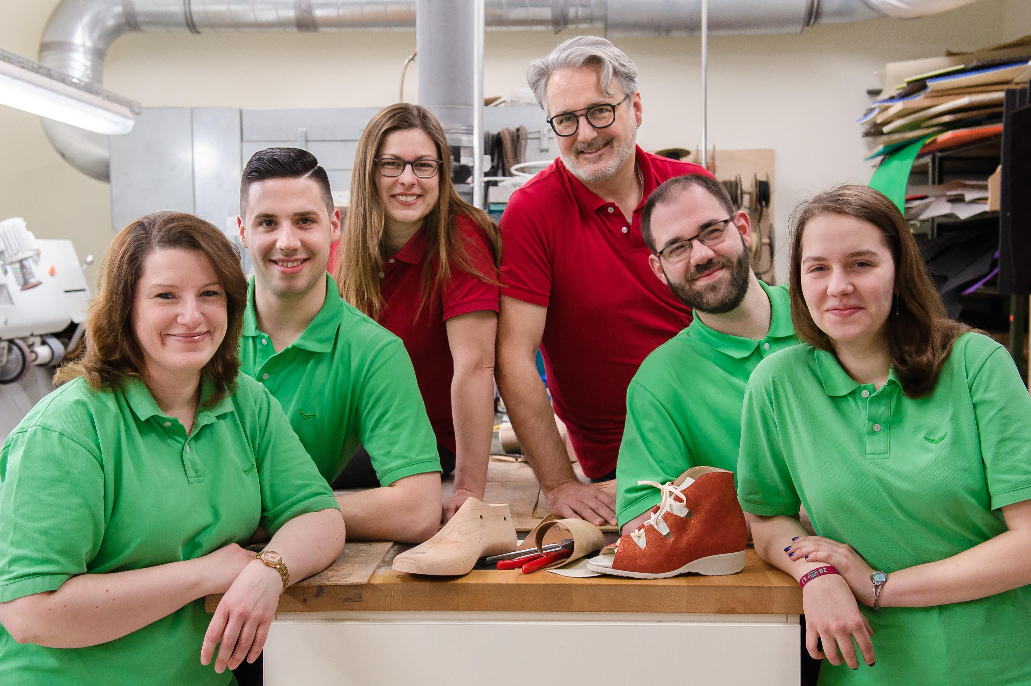 Schuhhaus Hammerich Wismar Werkstatt Team