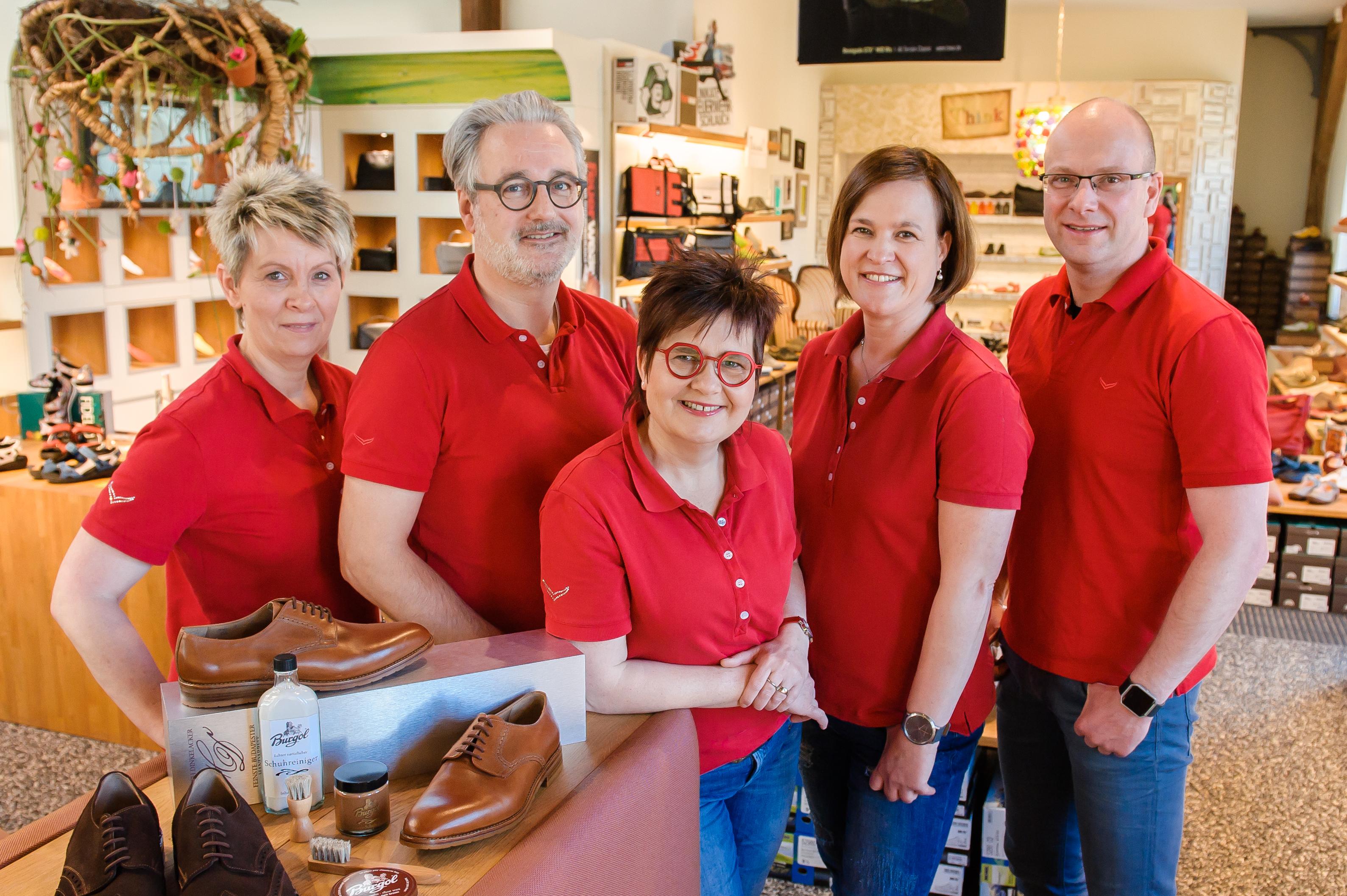 Schuhhaus Hammerich Wismar Service Team