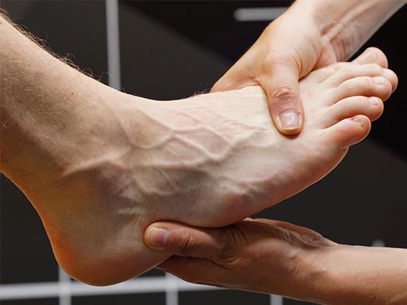 Fuß Schuhberatung